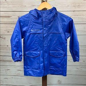 Columbia Youth Blue Raincoat